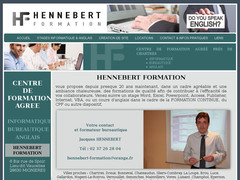 HENNEBERT Formation : stages informatique et anglais à Chartres