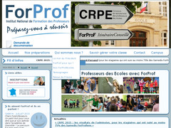 Institut National ForProf - Préparations au CRPE