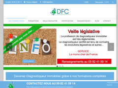 Détails : DFC Formation en Diagnostic Immobilier