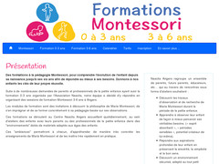 Formations Montessori Angers