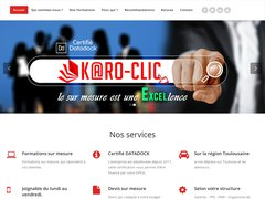 Site Karo clic formation